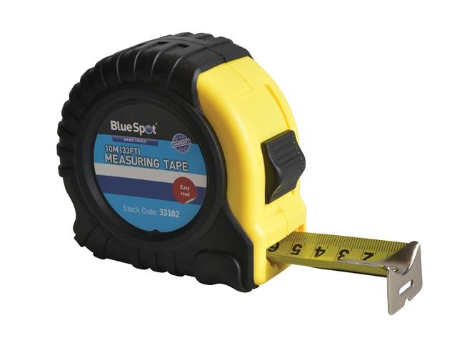 BlueSpot Tools Broad Buddy Tape 10m/33ft (Width 32mm)
