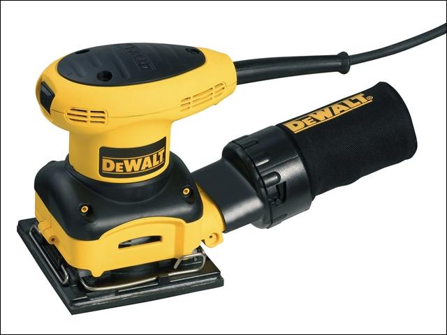 DEWALT D26441 1/4 Sheet Palm Sander 230 Watt 240 Volt 240V