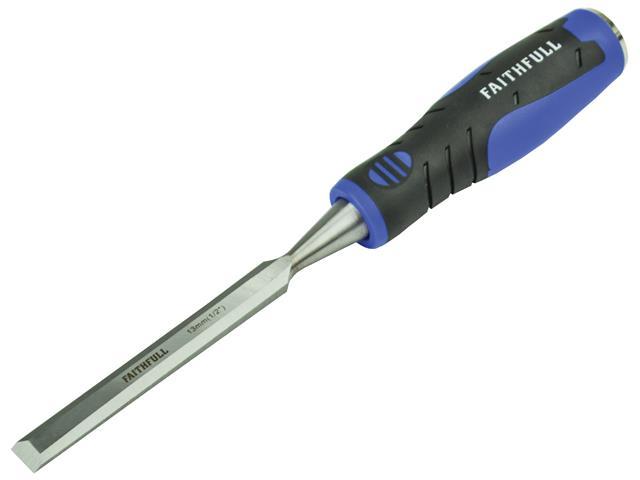 Faithfull Soft Grip Bevel Edge Chisel 12.7mm (1/2in)