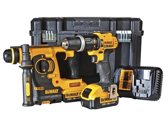 DEWALT DCK206M2 Twin Pack 18 Volt 2 x 4.0Ah Li-Ion 1
