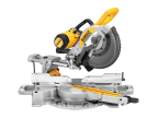 DEWALT DWS727 XPS Double Bevel Slide Mitre Saw 250mm 1675W 110V