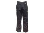 DEWALT Thurlston 3D Stretch Black Trousers Waist 38in Leg 33in