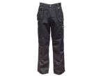 DEWALT Thurlston 3D Stretch Black Trousers Waist 40in Leg 29in