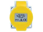 Faithfull Power Plus IP44 Panel Socket 16A 110V