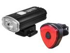 Lighthouse Elite Rechargeable LED Bike Light Set