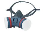 Moldex Ultra Light Series 7000 Half Face Mask (Medium) 2 x ABEK1P3 R Filters
