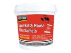Pest-Stop Systems Super Rat & Mouse Killer Sachets (Tub of 6)