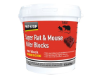 Pest-Stop Systems Super Rat & Mouse Killer Wax Blocks