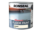 Ronseal Diamond Hard Floor Paint Cream 2.5 Litre