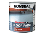 Ronseal Diamond Hard Floor Paint Terracotta 2.5 Litre