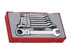 Teng TT6508RF Flexible Ratchet Spanner Set, 8 Piece