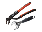 XMS Bahco 9031 Wrench & 8224 Waterpump Pliers Twin Pack