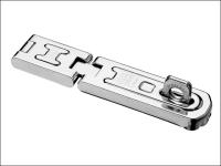 ABUS 100/100 100mm DG Hinged Hasp & Staple