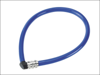 ABUS 1100/55 Combination Cable Lock 6mm x 55mm Coloured