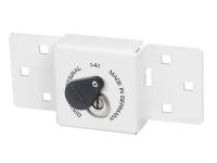 ABUS Integral Van Lock White 141/200 + 26/70 with 70mm Series 26 Diskus Padlock