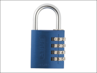 ABUS 145/40 40mm Aluminium Combination Padlock Blue 49523