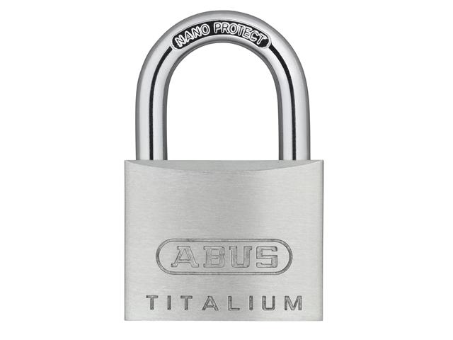 ABUS 64TI/50 Titalium Padlock Twin Pack 18433
