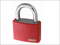 ABUS T65AL/40 40mm My Lock Aluminium Padlock Assorted Body Colour Carded