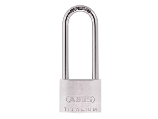 ABUS 80TI/40HB63 Titalium Padlock 40mm x 63mm Long Shackle