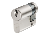 ABUS E60NP Euro Half Cylinder Nickel Pearl 10mm / 40mm