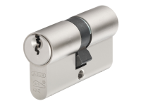 ABUS E60NP Euro Double Cylinder Nickel Pearl 30mm / 30mm