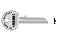 ABUS 36/55 55mm Right Hand Key Blank