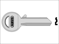 ABUS 85/30 30mm Right Hand Key Blank
