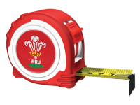Advent Official Welsh Rugby Tape Red / White  5m/16ft