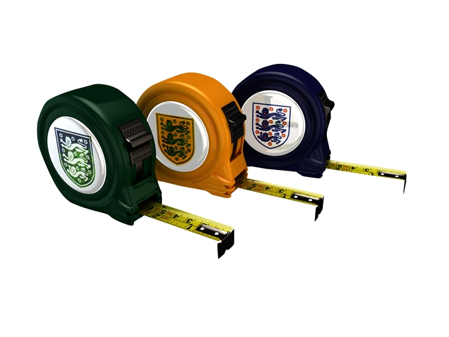 Advent 2014 Official England Tape 5m/16ft