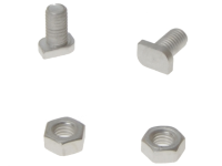 ALM Manufacturing GH003 Cropped Glaze Bolts & Nuts x 20
