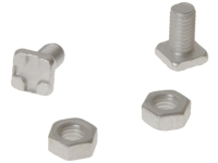 ALM Manufacturing GH004 Square Glaze Bolts & Nuts x 20