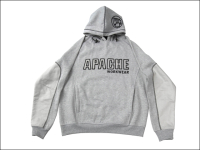 Apache Hooded Sweatshirt Grey - XL (48in)