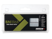 Arrow BN1816B Head Brad/ Nails 25mm Brown Pack 2000
