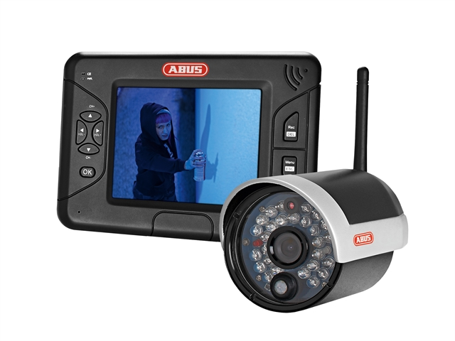 ABUS Security TVAC 15000B Home Video Set 90mm (3.1/2in)
