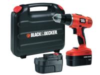 Black & Decker EPC188BK Cordless Combi Hammer Drill 18 Volt 2 x 1.2Ah NiCd 18V