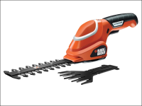 Black & Decker GSL700 Shear Shrubber Kit 7 Volt 1 x 1.2Ah Li-ion 7V