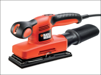 Black & Decker KA320EKA Orbital Sander 1/3rd Sheet 240 Watts