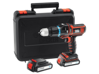 Black & Decker Multievo™ Hammer Drill 18 Volt 2 x 1.5Ah Li-Ion 18V