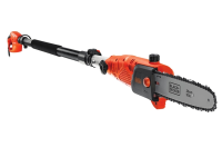Black & Decker PS7525 Corded Pole Saw 25cm Bar 800 Watt 240 Volt 240V