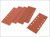 Black & Decker 1/2 Sanding Sheets Orbital 115mm x 280mm Punched Assorted (Pack of 5)