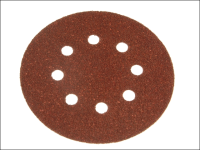 Black & Decker Perforated Sanding Discs 125mm Medium Coarse (Pack of 5)