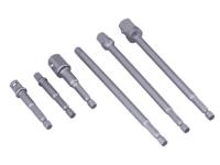 BlueSpot Tools Socket Adaptor Set, 6 Piece
