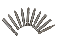 BlueSpot Tools Power Bit Set Std 10 Piece