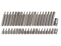 BlueSpot Tools Mixed Hex, Spline & TORX Bit Set, 40 Piece