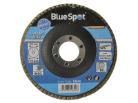BlueSpot Tools Sanding Flap Disc 115mm 80 Grit