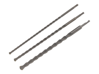 BlueSpot Tools SDS Bit Set of 3 450mm