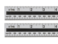 BlueSpot Tools Aluminium Ruler 150mm / 6in