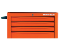 Bahco 1470K5 Tool Trolley 5 Drawer Orange