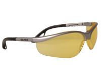 Bahco Hi-viz Scratch Resistant Glasses Yellow