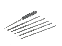 Bahco Needle Set of 6 2-470-16-2-0 16cm Cut 2 Smooth
